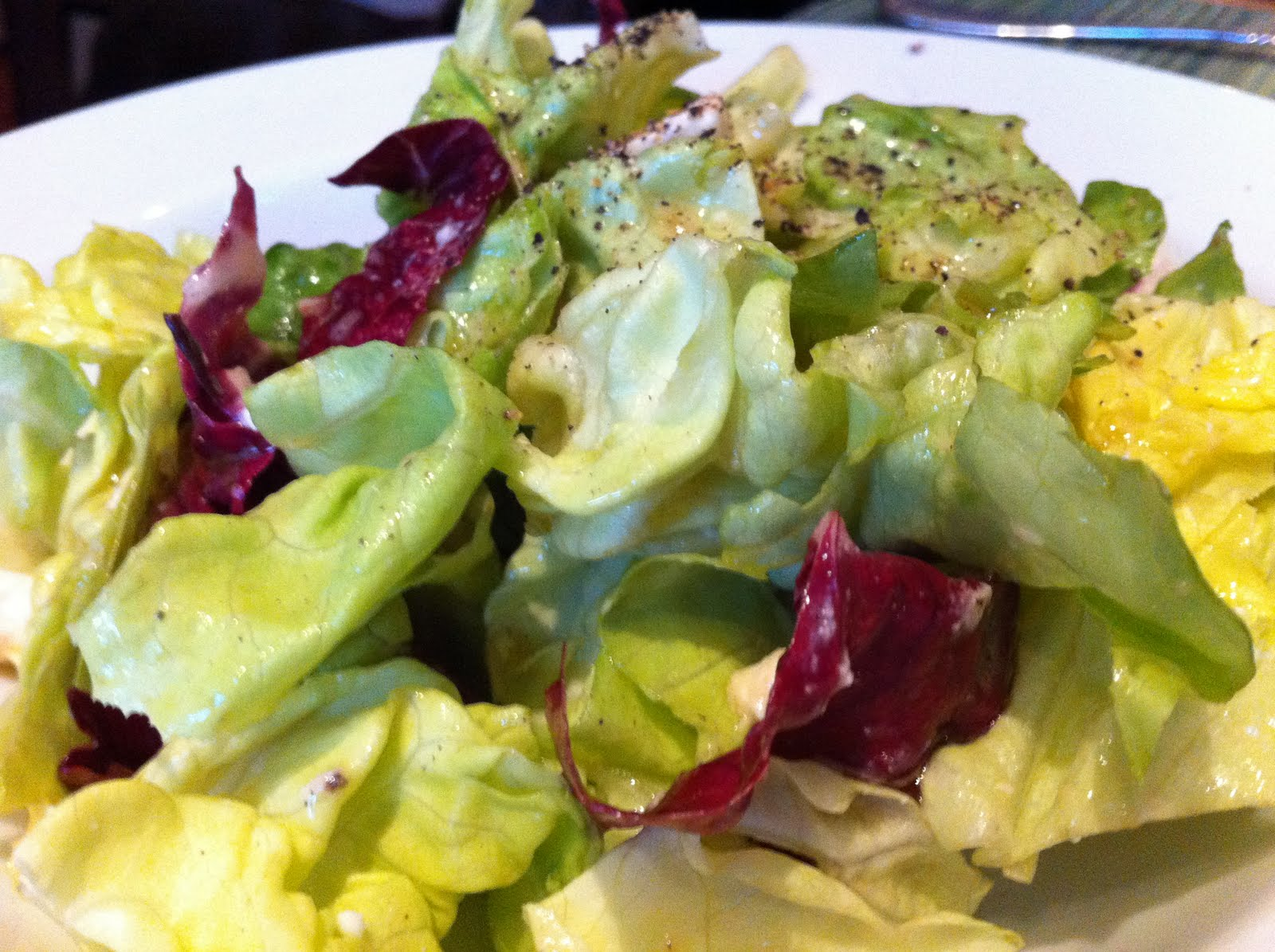 Butter Lettuce And Fresh Herbs With Maytag Blue Cheese Recipes ...