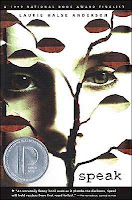 Book cover of Speak by Laurie Halse Anderson