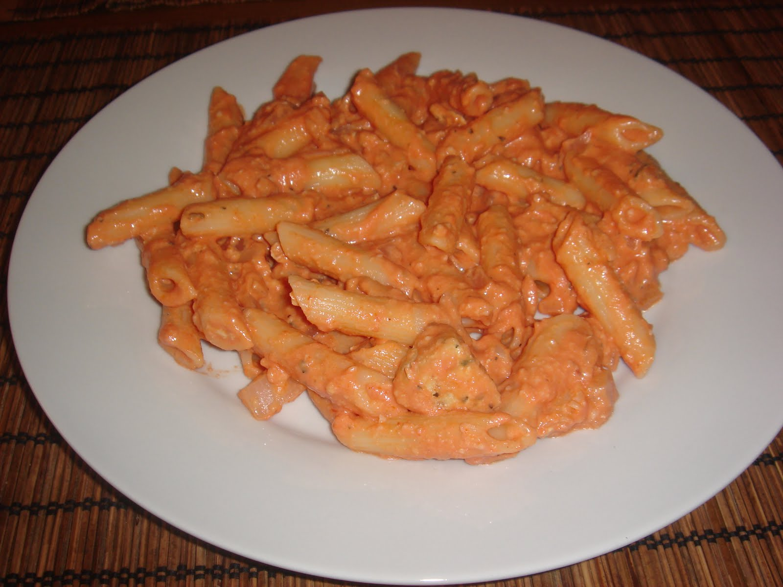 The New Chef's Journal: Penne alla vodka