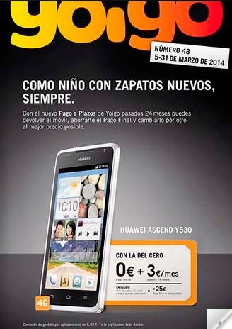 Revista Online de Yoigo para MARZO 2014