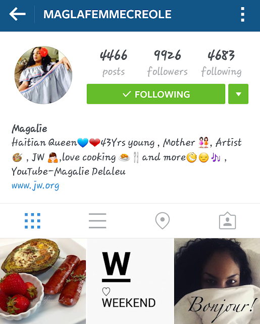 maglafemmecreole instragram screenshot