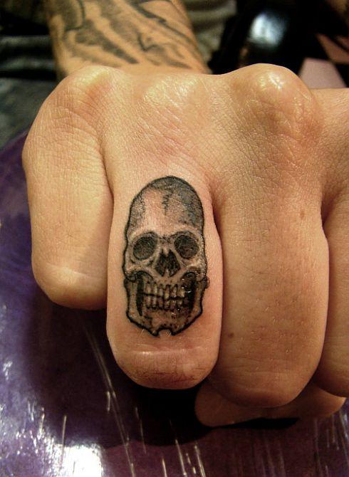 finger ring tattoos