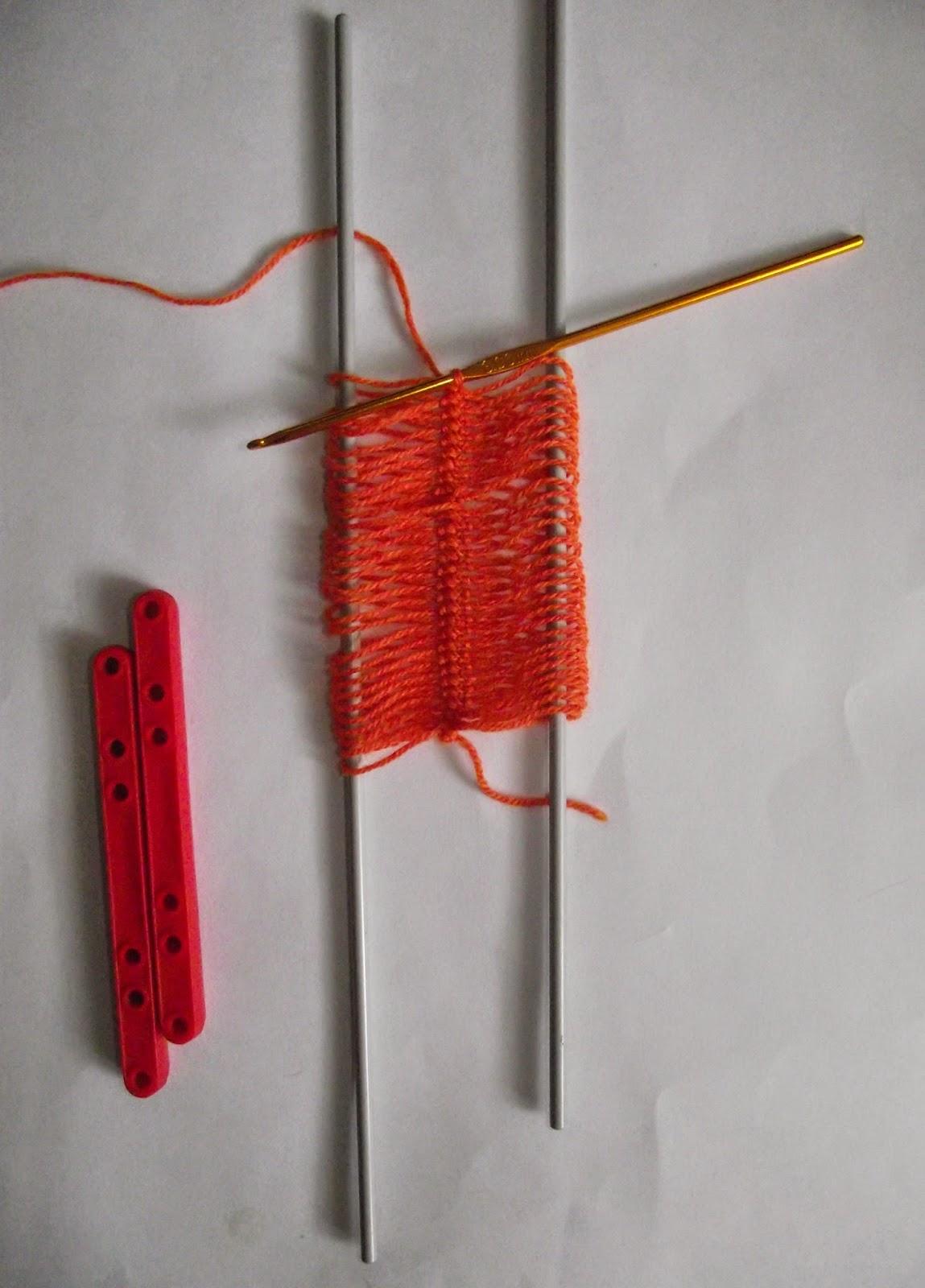 Другие виды рукоделия. Вязание на вилке 48