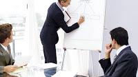 Die Ziele, Kennzahlen, Strategie und Planung im Voraus in der Führung der Bank mit dem Bankangestellten