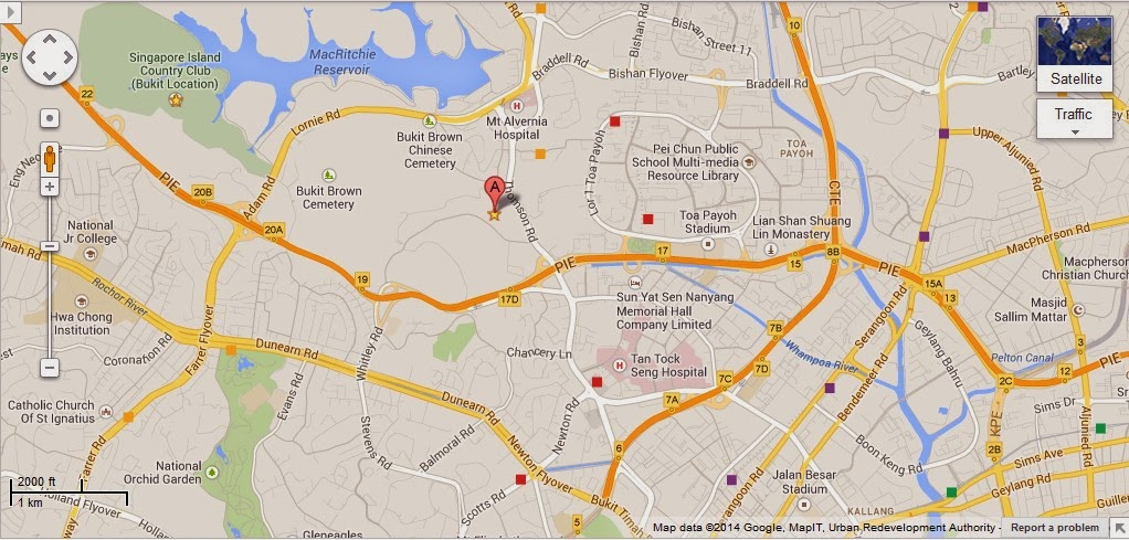 Detail Singapore Polo Club Location Map – Tourist Map Of Singapore City