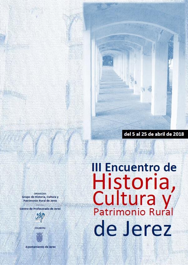III Encuentro de Historia, Cultura y Patrimonio Rural