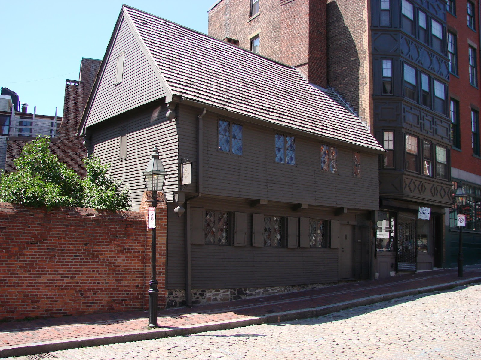 Freedom Trail The Paul Revere House