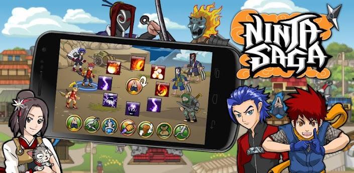 Game Ninja Saga untuk Hp Android