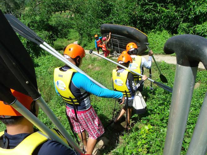 white water rafting adventure majayjay laguna
