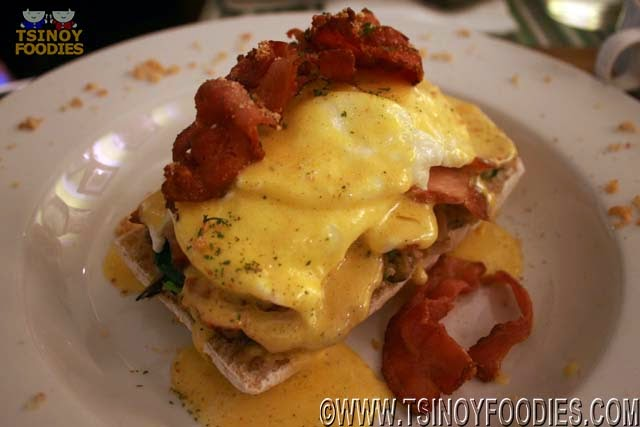 hungry mans egg benedict