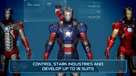 Iron Man 3 Mod Apk Data v1.5.0 The Official games