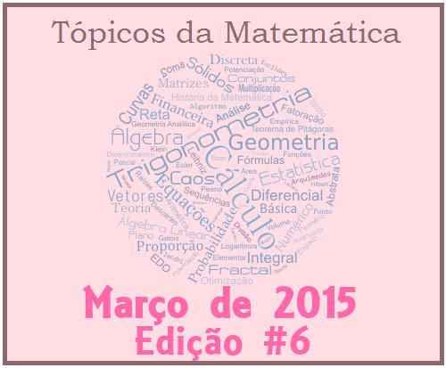 Tópicos da Matemática da UBM - Nº #6 - Mulheres na Matemática