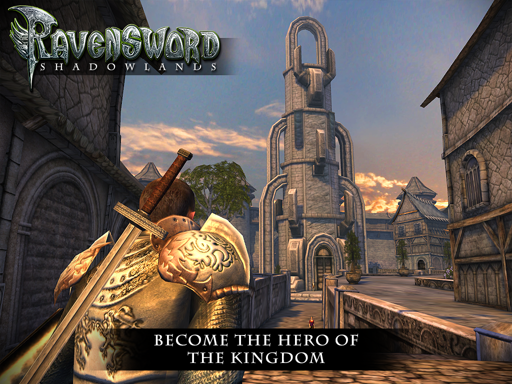 Скачать Ravensword: Shadowlands для Android