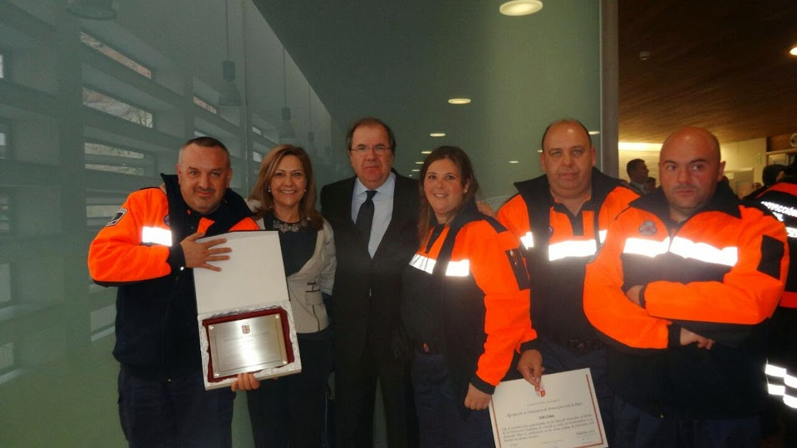 Con el presidente de la Junta de Castilla y León