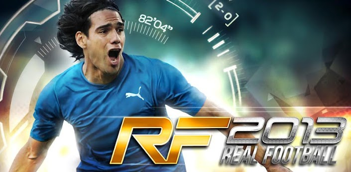 Real Football 2013 Apk v1.0.6
