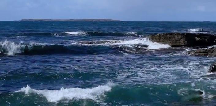 Blue Ocean Waves Live Wallpaper HD