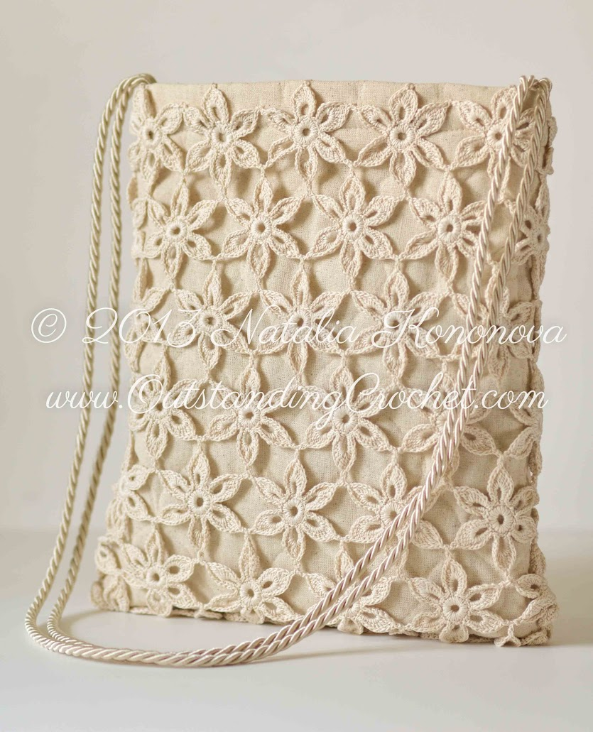 Outstanding Crochet: Free Pattern / Tutorial for Crochet Summer Tote ...