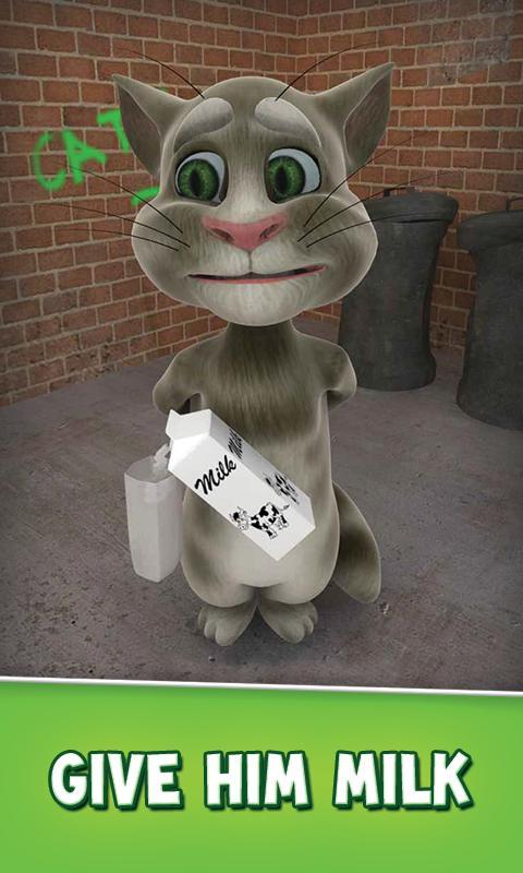 لعبة Talking Tom Cat Free v2.0.1 اللعبة المضحكة بأصدارها الجديد