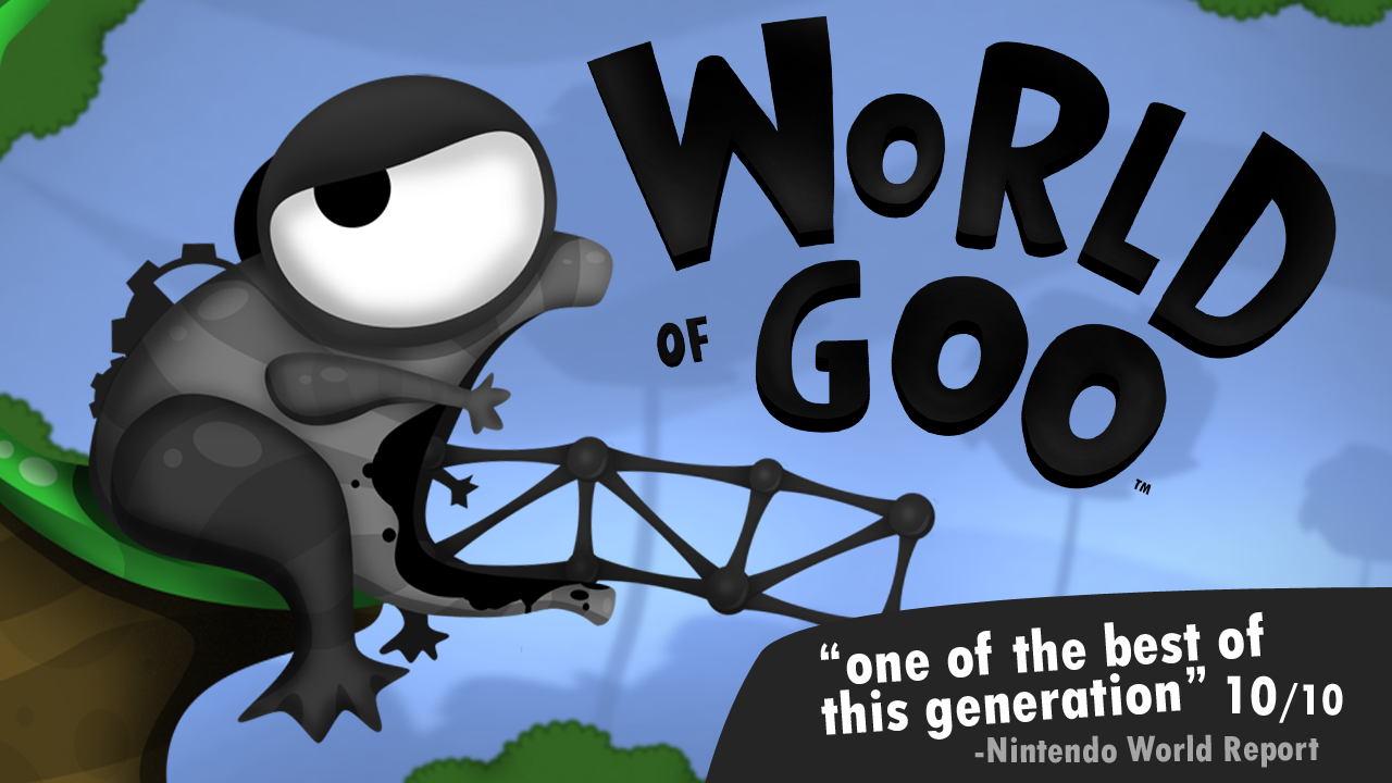 World Of Goo puzzle game for iPhone