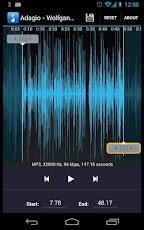 MP3 Ringtone Maker / Cutter Android