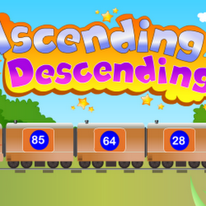 Ascending and Descending Games for Kids