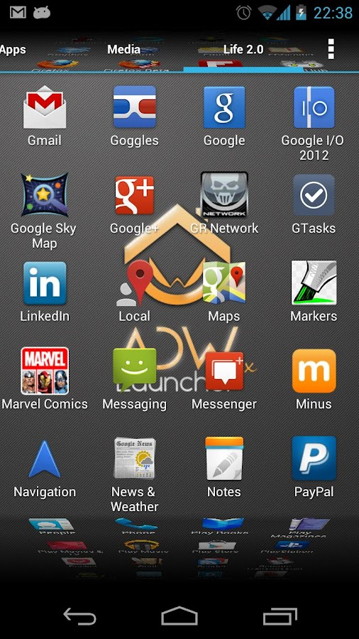 download adw launcher ex apk