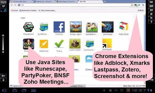 AlwaysOnPC:Chrome,Java,Office
