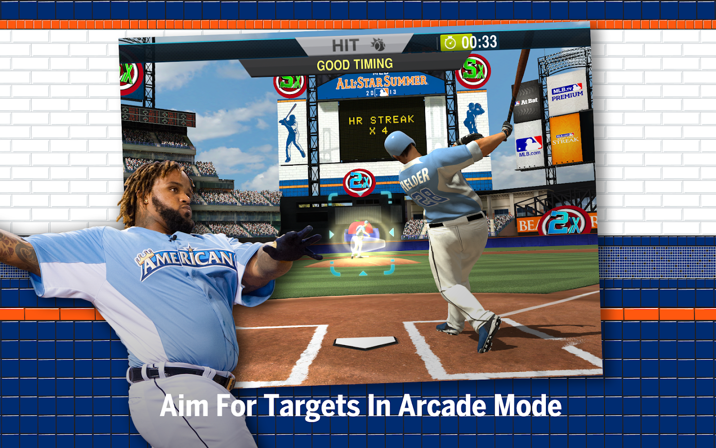 Descargar MLB.com Home Run Derby v1.1.149820 Mod (Monedas ilimitadas) apk Android Full Gratis (Gratis)