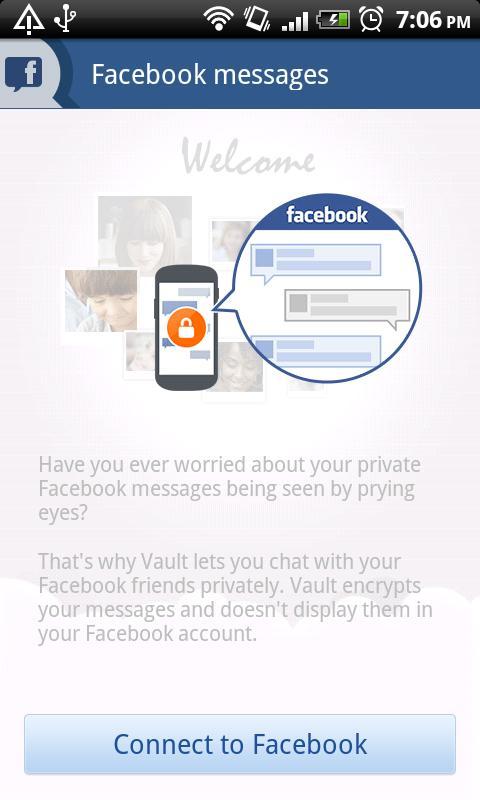 تطبيق Vault-Hide SMS Pics & Videos v3.8.08.22 لأخفاء الرسائل والصور والفيدوهات من المتطفلين