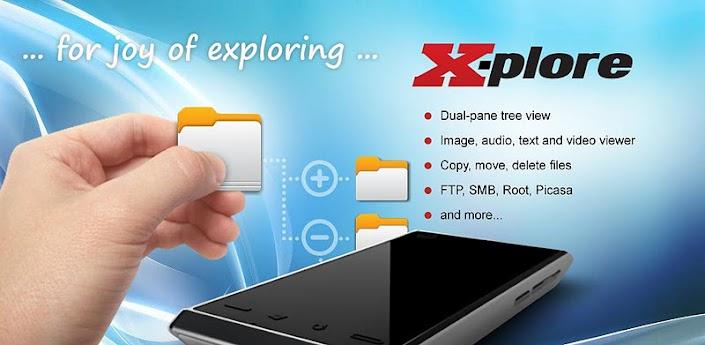 X-plore File Manager Apk v3.20.05