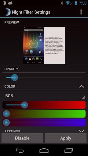 Night Filter Apk v1.0.3