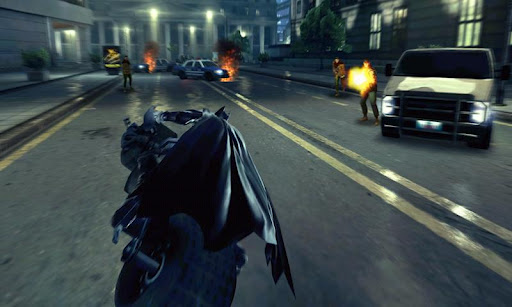 The Dark Knight Rises apk sd data