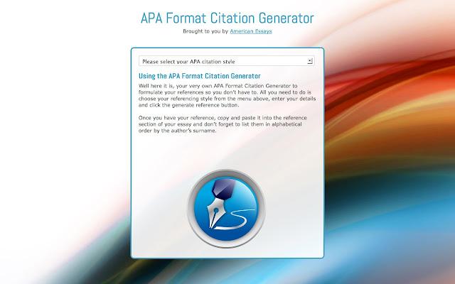 apa format citations generator