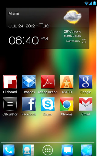 Screenshot Launcher Kitkat