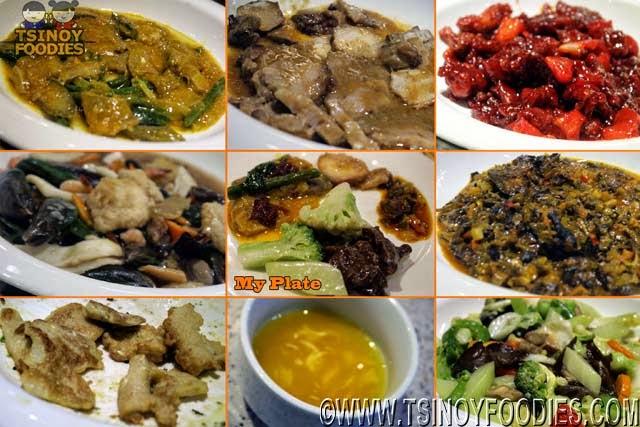 the buffet international cuisine