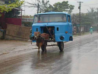 How do you prove your car is yours?  Donkey+pulling+car
