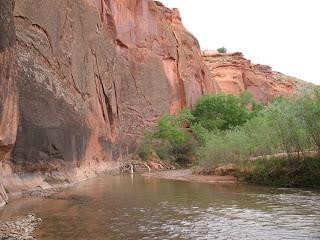 The Escalante River, Utah