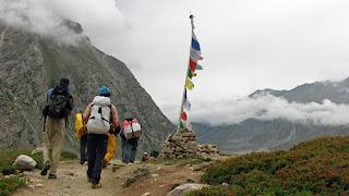 Trekking to India's Miyar Valley
