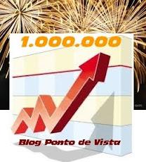 ANO II- 1 Milhão de visitas- criação da arte: Carlos Jota Silva do Maringá em Destaque