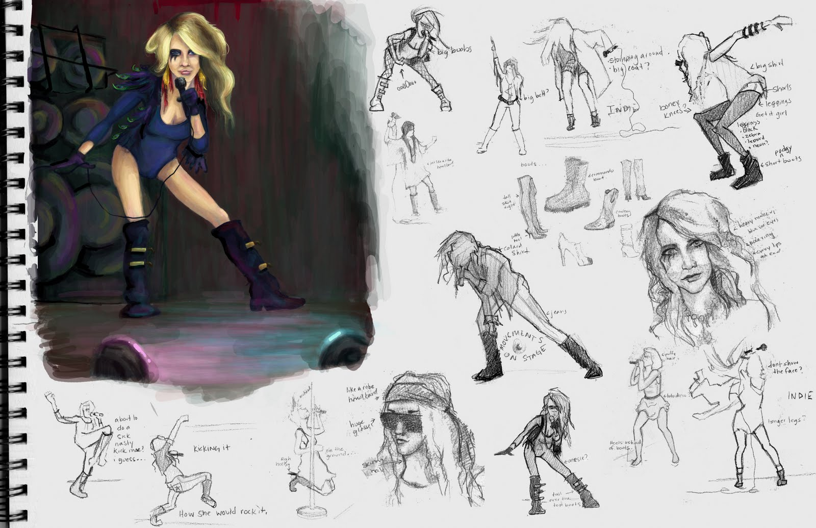 Character Design Layout : Drexelius ke ha character design layout