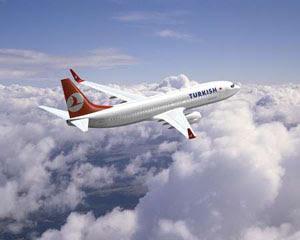 Turk hava yollari ucak aliyor
