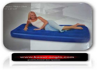 Kasur Angin Single Size 185cmx76cmx23cm Berat Paket Include Pompa Listrik 3kg Merk Bestway Dan Intex Harga Sama Normal