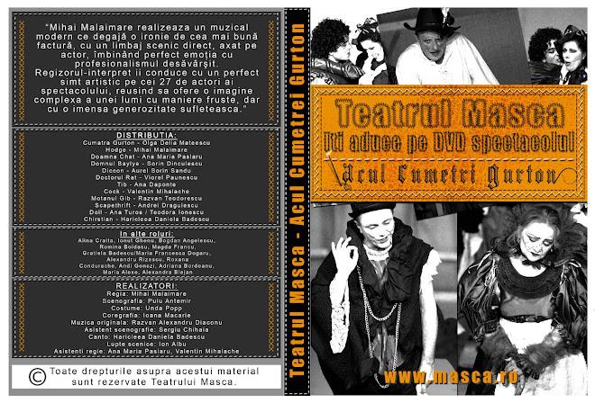 Coperta DVD Acul cumetrei Gurton