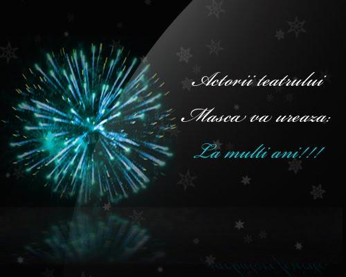 Felicitare Revelion