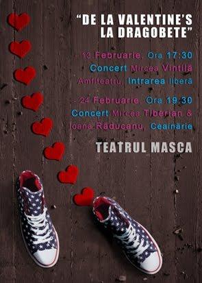 Afis de la Valentine's la Dragobete