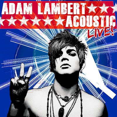 Adam Lambert Live Acoustic EP cover
