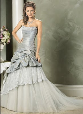 Wedding Fashion Show Silver Wedding Gowns From Maggie Sottero