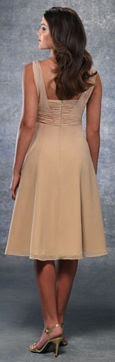 Thick Straps Venus Bridesmaid Dress