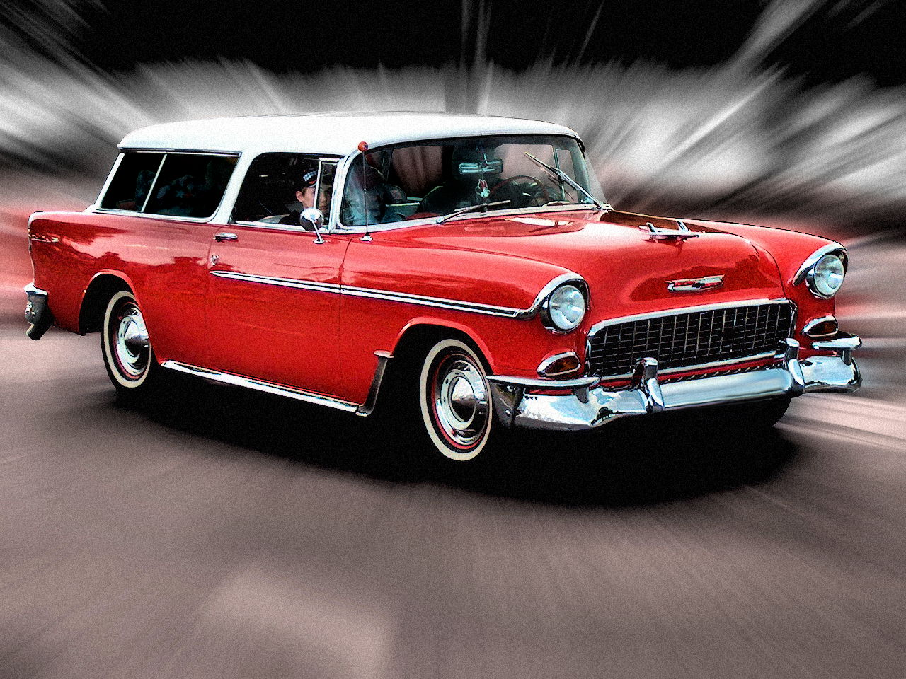 Cars, Cars Reviews and Car Pictures: Classic Car 1956 Chevrolet Nomad