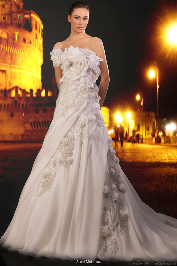 Wedding Ideas Blog: Abed Mahfouz Wedding Gown Collections